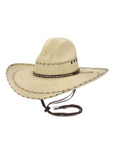 7b875d6d34f Larry Mahan 30X Pancho Straw Cowboy Hat - This would not look good on me but