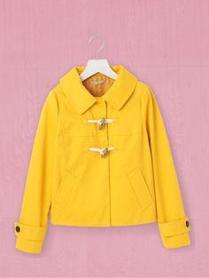 GAP Short duffle jacket yellow