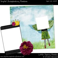 Lil Spring Freebie - Digital Scrapbooking Freebie