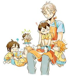 Find images and videos about mom, suck and chibi on We Heart It - the app to get lost in what you love. Haikyuu Kageyama, Haikyuu Funny, Haikyuu Manga, Haikyuu Volleyball, Volleyball Anime, Hello Memes, Daisuga, Kagehina, Tsukkiyama