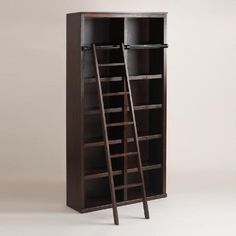 One of my favorite discoveries at WorldMarket.com: Espresso Augustus Library Shelf Collection