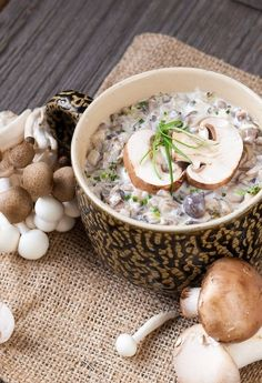 Soup on Pinterest | Soups, Toms and Homemade Mushroom Soup
