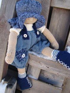 Pattern for  Raggedy Baby Boy Raggedy Lottie ragdoll by Deena6A, $5.00