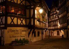 Strasbourg, France. In the Alsace region.
