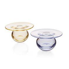 283. NANNY STILL, A SET OF TWO VASES. Glass Design, Design Art, Finland, Modern Contemporary, Scandinavian, Glass Art, Ceramics, Crystals, Tableware