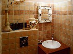 projekt łazienki w stylu prowansalskim