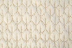 [Karen Barbé · Textile designer · Palm Leaf Stitch – detail]