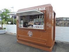 Coffee kiosks - affordable portable shops for budding baristas