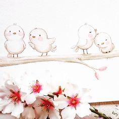 Después de un inesperado fin de semana con intensas nevadas por aquí, ha vuelto otra vez la primavera perdida! hoy sol y muchas flores! que disfrutéis vuestra semana 😘#childrensillustration #birdlove #watercolor #watercolorpainting #illustration #childrenswritersguild #watercolour #myartwork #whimsyillos #kidsart #cutedrawing #aidazamora #watercolour_gallery #acuarela #childrensbook #spring #watercolorblog  #pink #illustratenow #flowers #ilustracioninfantil #illustration_best…