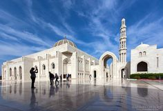 Oman | Sultan Qaboos Grand Mosque, Muscat. credit: Ahmed Altoqi. view on Fb https://www.facebook.com/OmanPocketGuide #oman #traveltooman