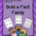 CCSS 1.OA.B.3 Build a Fact Family: This activity is an exciting addition to your math centers.  Students can work independently to create fact fami...
