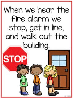 Fire drills can be terrifying for preschoolers and many children.  It is loud and students are everywhere. I created a book (aka soci...