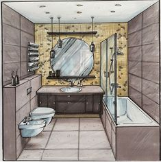 Great buildings and structures  #architecture  #sketch  #marker architecture sketch Interior Architecture Drawing, Interior Design Renderings, Drawing Interior, Interior Rendering, Interior Sketch, Architecture Design, Classical Architecture, Conceptual Architecture, Gothic Architecture
