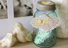 Love Jar   Mason Jar Project from @joannstores   Love Note Jar