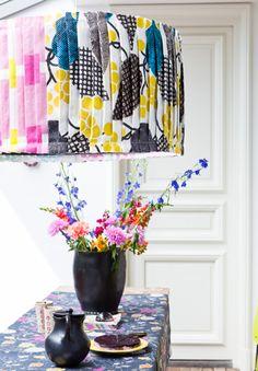 #DIY Lampshade - #101woonideeen.nl - Dutch interior and crafts magazine
