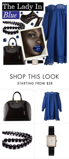 """""""Untitled #425"""" by riuk ❤ liked on Polyvore featuring Louis Vuitton, WithChic and Chanel"""