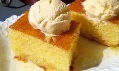 Αφράτο ρεβανί με κρέμα πορτοκαλιού !!! Greek Recipes, Candy Recipes, Cornbread, Vanilla Cake, Cheesecake, Favorite Recipes, Cookies, Ethnic Recipes, Desserts