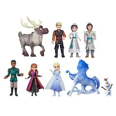 Disney Frozen 2 Ultimate Small Doll Collection (Target Exclusive) – Presents for girls Disney Frozen Toys, Frozen Dolls, Frozen Movie, Disney Dolls, Frozen Kids, Disney Art, Elsa, Movie Inspired Outfits, Capes For Kids