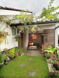 31 marvelous winter garden design for small backyard landscaping ideas 31 Patio House Ideas, Terrace Decor, Front Yard, Balcony Decor, House Plants Decor, Interior Garden, Front Yard Landscaping, Garden Design, Minimalist Garden