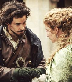 Santiago Cabrera & Annabelle Wallis - The Musketeers - 1x07