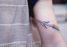 Rainbow Contrails by Seyoon Gim