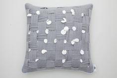 HUHU cushion by cool enough studio.  www.coolenoughstudio.com Cushions, Throw Pillows, Studio, Cool Stuff, Design, Toss Pillows, Toss Pillows, Pillows, Decorative Pillows