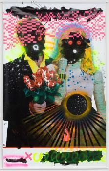 Spirited discussion about New Zealand art and visual culture Pvc Banner, Aerosol Paint, New Zealand Art, Multimedia Artist, Double Exposure, Optical Illusions, Trippy, New Art, Psychedelic