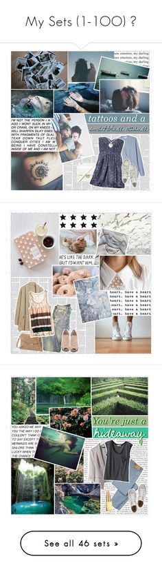 """""""My Sets (1-1OO) ♡"""" by diverqent ❤ liked on Polyvore featuring art, Nine West, Current/Elliott, Madewell, ALDO, H&M, Keds, Mulberry, So It Goes and Cigno Nero"""