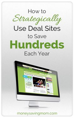 Did you know you can save at least a hundred dollars per year by strategically using Daily Deal Sites? This post tells you exactly how to do it & gives you links to some of the best Daily Deal Sites out there... Ways To Save Money, Money Tips, How To Make Money, Budgeting Finances, Budgeting Money, Deal Sites, Money Saving Mom, Frugal Tips, Financial Tips