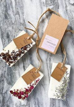 Your place to buy and sell all things handmade Handmade Soap Recipes, Handmade Soaps, Scented Sachets, Scented Wax, Diy Cadeau Noel, Wax Tablet, Pot Pourri, Soap Packaging, Packaging Ideas