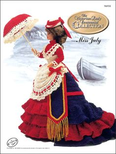 Barbie Crochet: Centennial Miss July 1993. $3.95 on e-PatternsCentral
