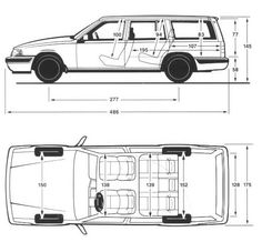 Volvo 960 Kombi