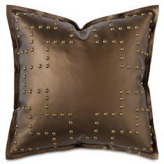 Barclay Butera Hudson Klein Bronze Decorative Pillow @LaylaGrayce