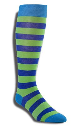 Hero 2 Pack by Wits + Beaux - Colorful and on-trend, these socks are made with a lightweight cotton and polyester weave that is both comfortable and ultra-breathable. The bright pattern is sure to add an eye popping touch to any outfit. $38 | Hucksley.com