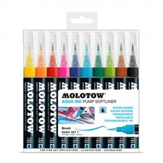 Molotow Grafx Aqua Ink Basic-Set 1 10er Box