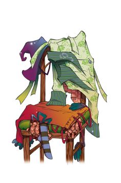 Fairy Oak-Vanilla's and Lavender's Wardrobe | #ElisabettaGnone #libri #books #romanzo #novel #art #drawing #picture #sketch #draw #artist #illustration #pencil #reading #fable #fiaba