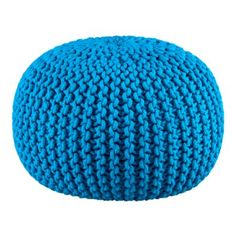 Knitted Pouf (CB2 - $89.95)