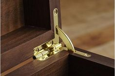 Attaching hinges, driving threaded inserts and other installation tricks you can accomplish like a professional woodworker. Woodworking Pipe Clamps, Woodworking Books, Woodworking Workshop, Woodworking Supplies, Woodworking Projects, Woodworking Workbench, Furniture Hinges, Wood Supply, Wood Magazine