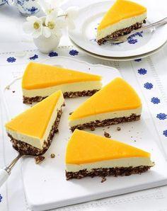 Unser beliebtes Rezept für Smoothie-Käsekuchen mit Mango-Guss und Puffreisboden und mehr als 55.000 weitere kostenlose Rezepte auf LECKER.de.