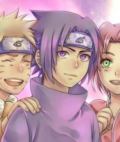 Good old days by DaiKai #team #7 #sasuke #sakura #naruto