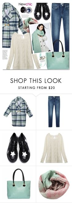 """""""Winter mint"""" by mada-malureanu ❤ liked on Polyvore featuring Acne Studios, Pashma, Bobbi Brown Cosmetics, women's clothing, women's fashion, women, female, woman, misses and juniors"""