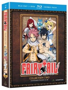 Fairy Tail DVD/Blu-ray Collection 2 (Hyb) #RightStuf2013