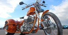 Harley Davidson Trike For Sale Custom Trikes, Custom Choppers, Custom Motorcycles, Trike Motorcycles, Custom Harleys, Harley Davidson Trike, Black Harley Davidson, Davidson Bike, Homemade Pictures
