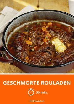 Geschmorte Rouladen - smarter - Zeit: 30 Min. | eatsmarter.de