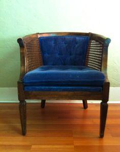 Portland: French Provincial Glam Empire Chair -- Mid Century $65 - http://furnishlyst.com/listings/395420