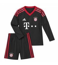 Bayern Munchen Målvakt Hemmaställ Barn 17-18 Långärmad Munich, Adidas Jacket, Athletic, Sports, Jackets, Tops, Fashion, Bavaria, Goaltender