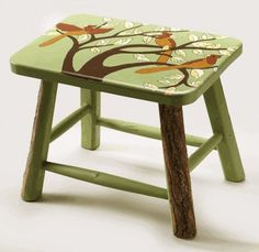 Step up with this charming and rustic stool, made by artisans in El Salvador.