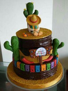 Fieata Mexicana Cake Idea