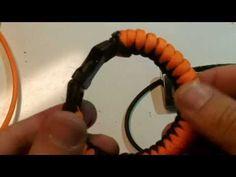 Rock Paracord - How to make a Snake Knot Survival Bracelet