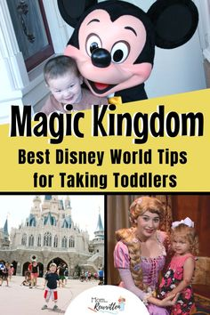 Taking toddlers to Magic Kingdom at Walt Disney World is both magical and tricky! The tips in this ultimate guide will tell you how to plan your day including what to eat, shows to watch and how to avoid the dreaded Disney meltdown! Disney World Guide, Disney World Parks, Disney World Planning, Disney World Tips And Tricks, Disney Tips, Disney Vacation Club, Disney Cruise Line, Disney Vacations, Disneyland Vacation